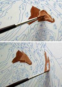 раскраски по номерам инструкция - фото 5
